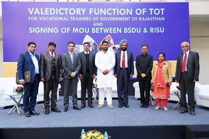 BSDU signs MoU with RISU