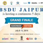 BSDU, Jaipur will host Grand Finale of SIH 2019 Hardware Edition