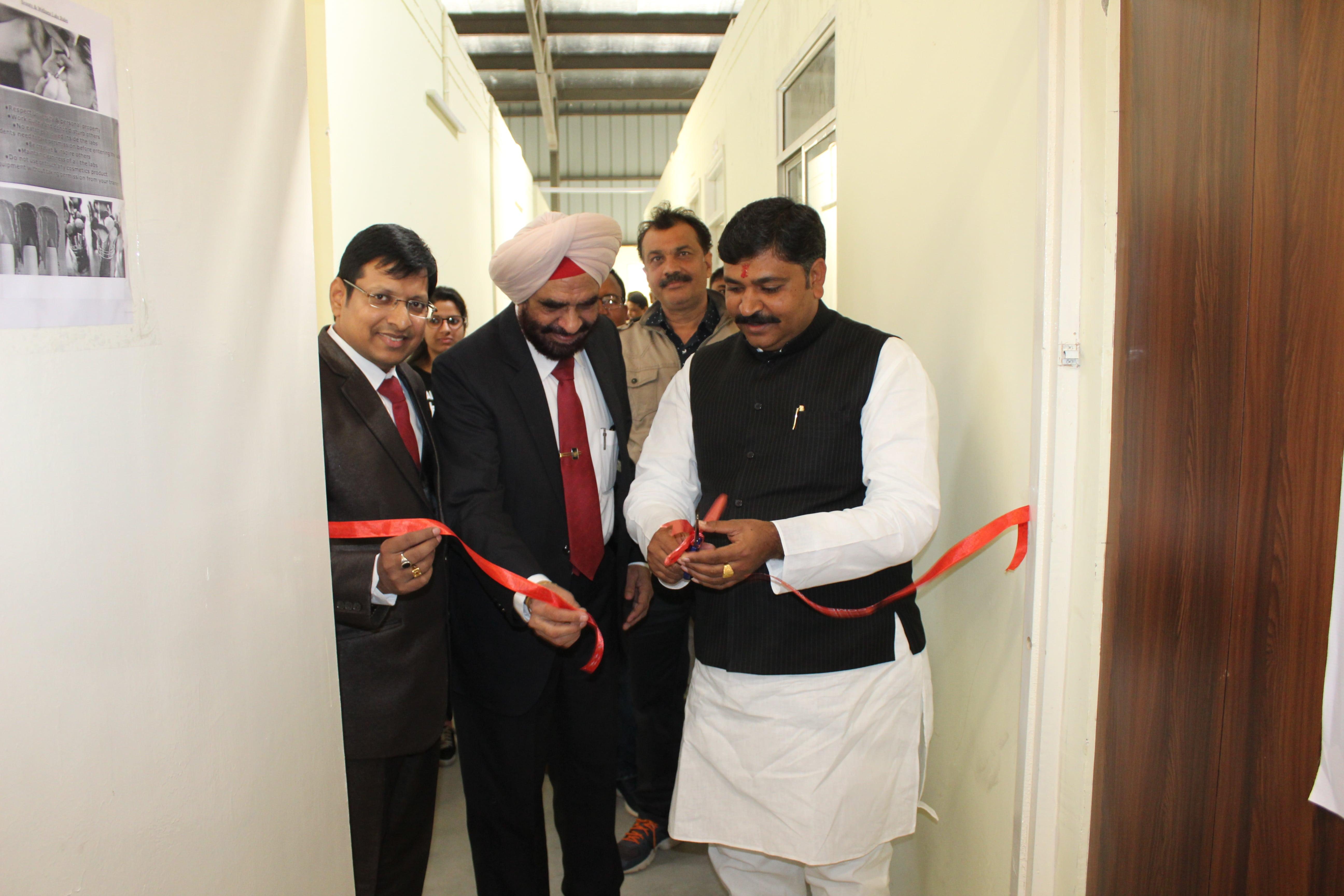Inauguration of Beauty & Wellness Lab